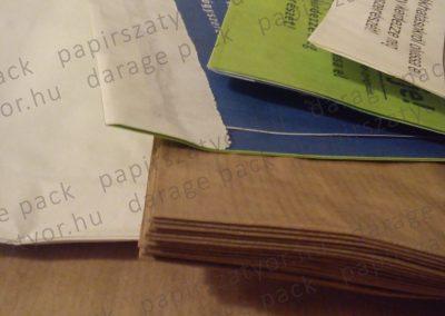 papírzacskó, zsinórfüles papírzacskó,  papírzacskó gyártás, papírzacskó készítés